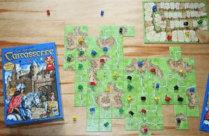 Familienspiel Carcassonne
