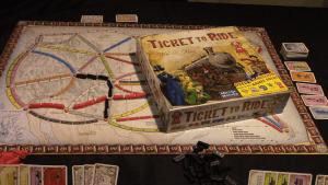 Gemeinschaftsspiel Ticket to Ride