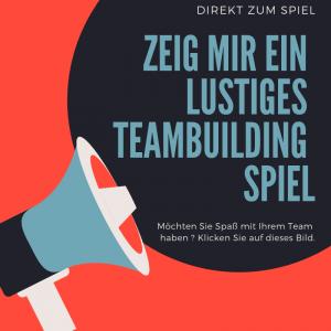Teambuilding Spiel