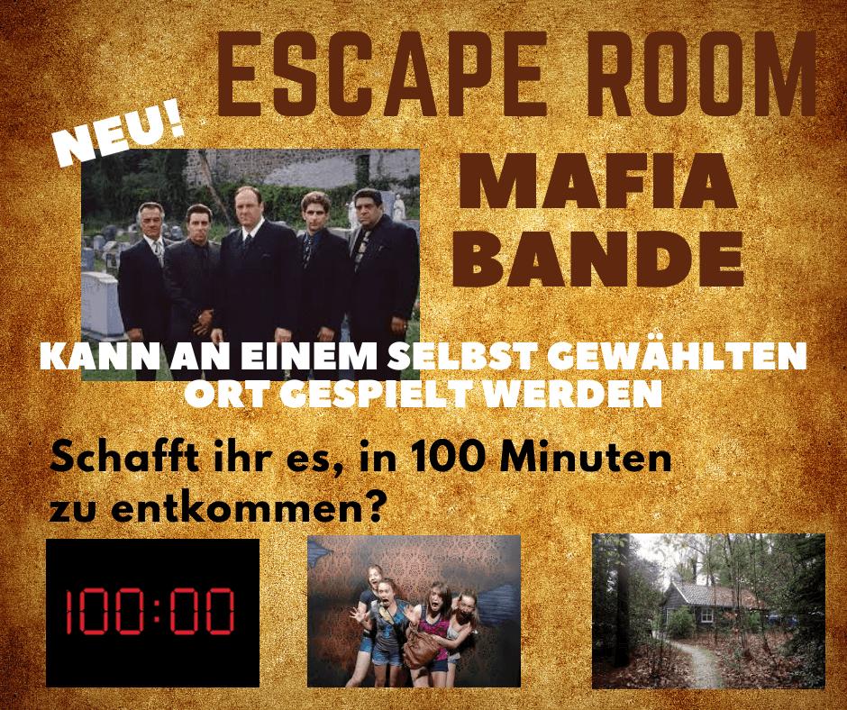 Escape Room Mafiabande