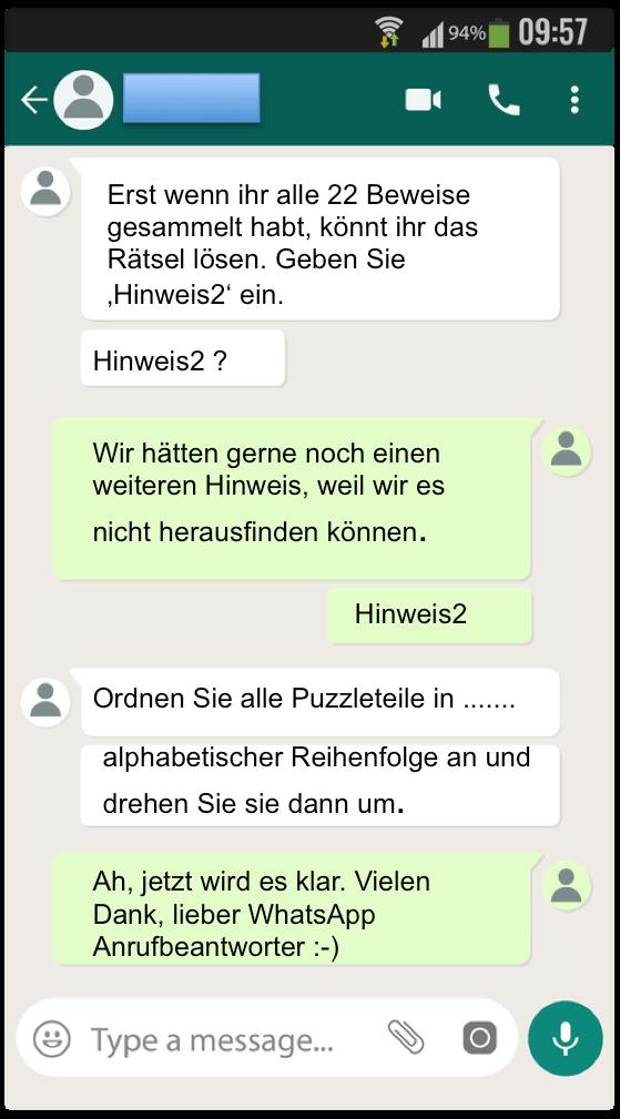 Automatisches whatsapp