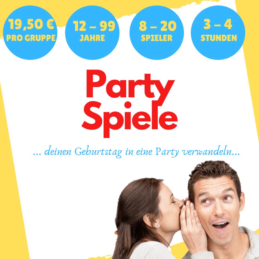 Spiele für Erwachsene Gruppen Partyspiele
