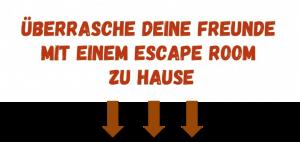 Escape room überraschung