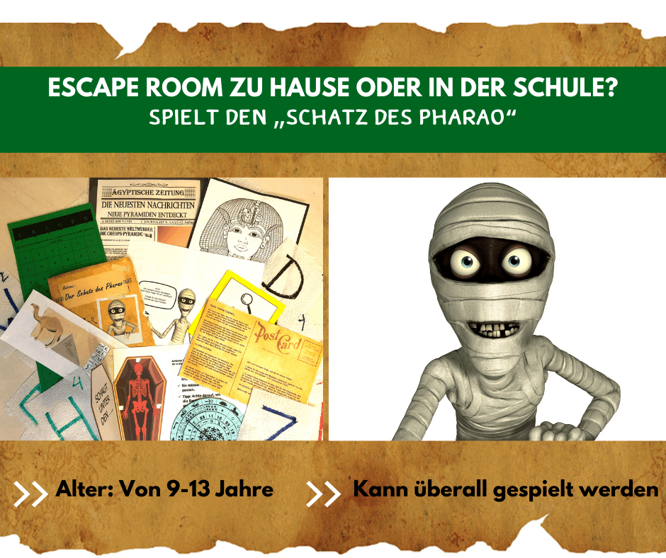 Escape Room Der Schatz des Pharao