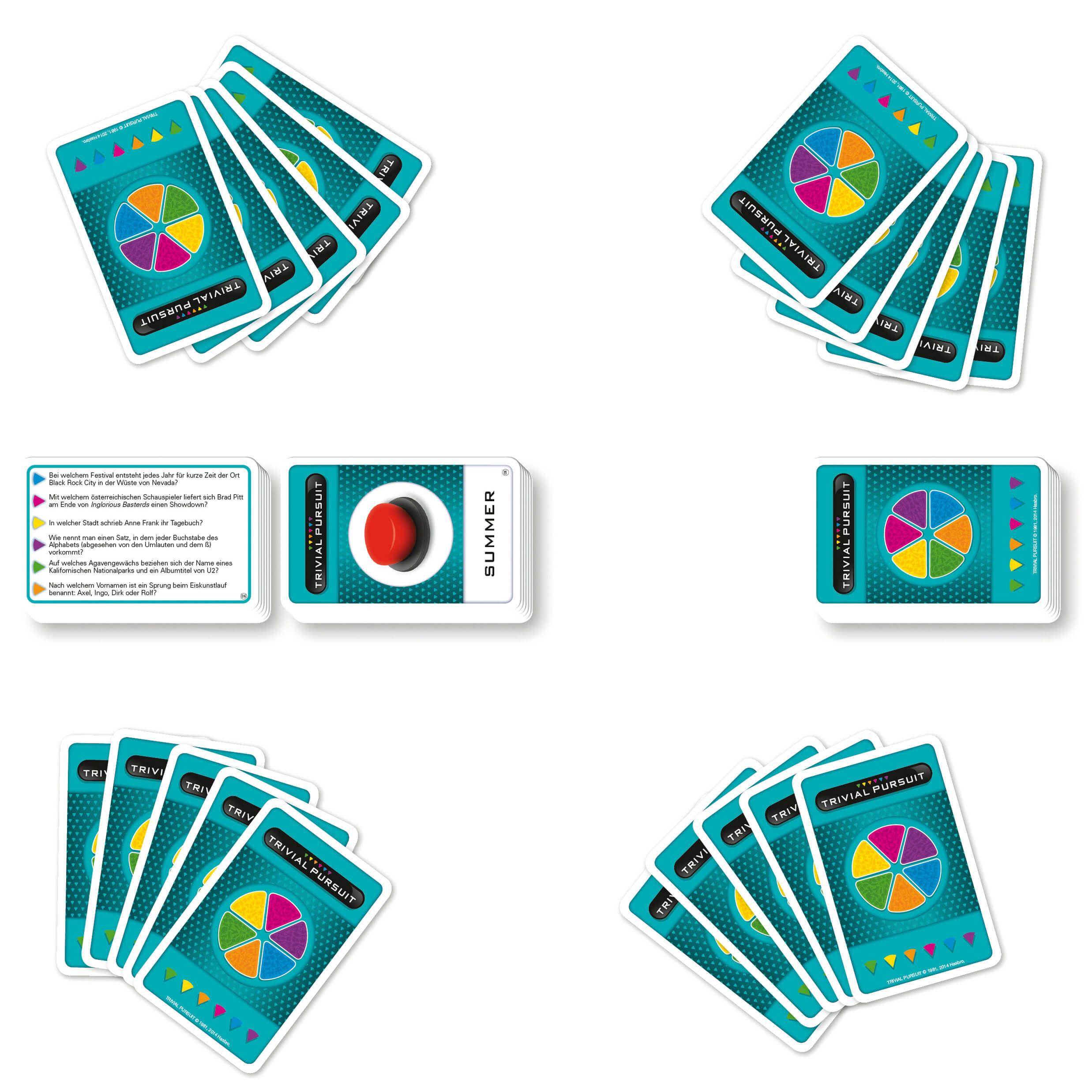 Kartenspiel Trivial Pursuit
