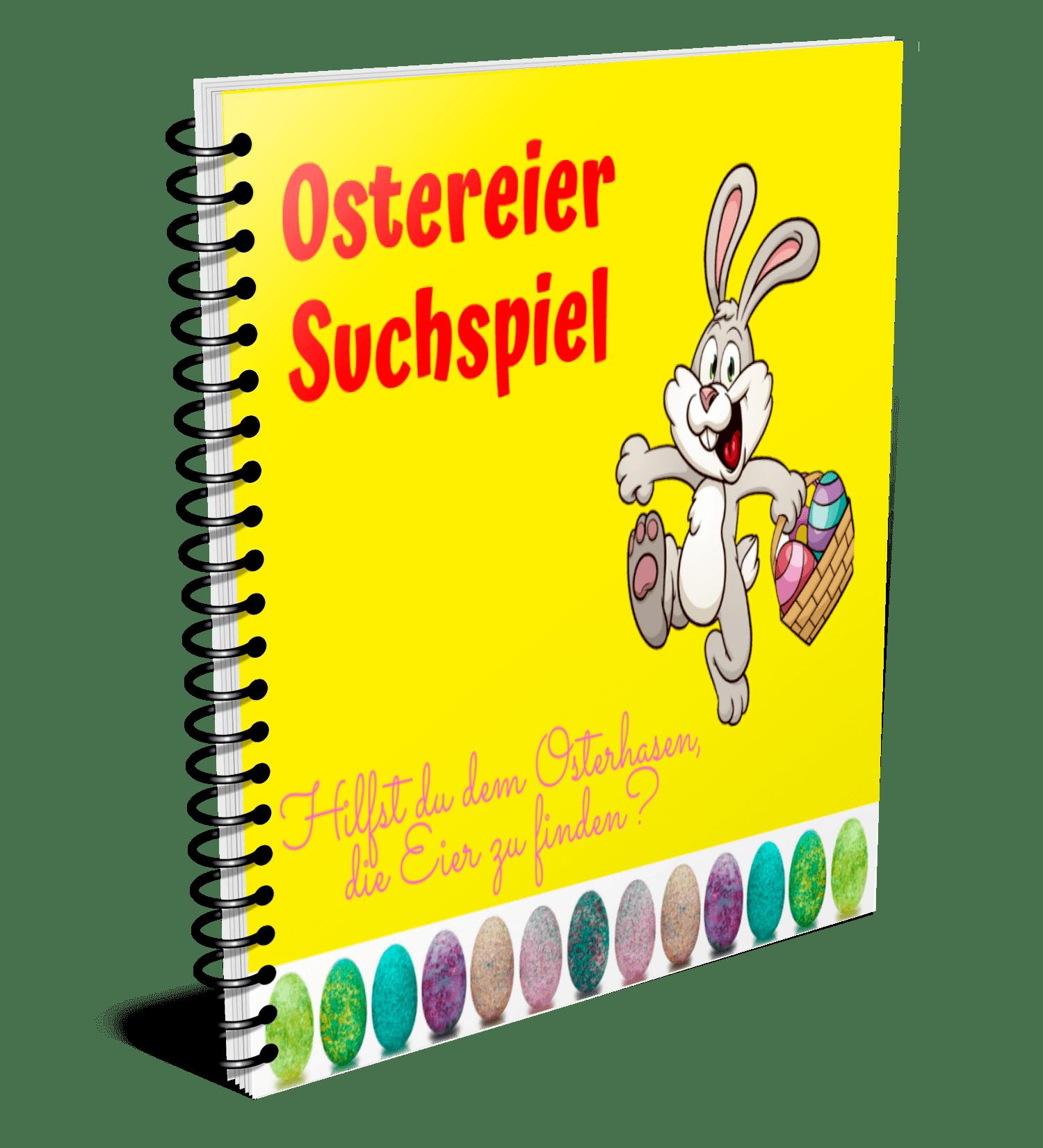 E-Book Ostereier Suchspiel