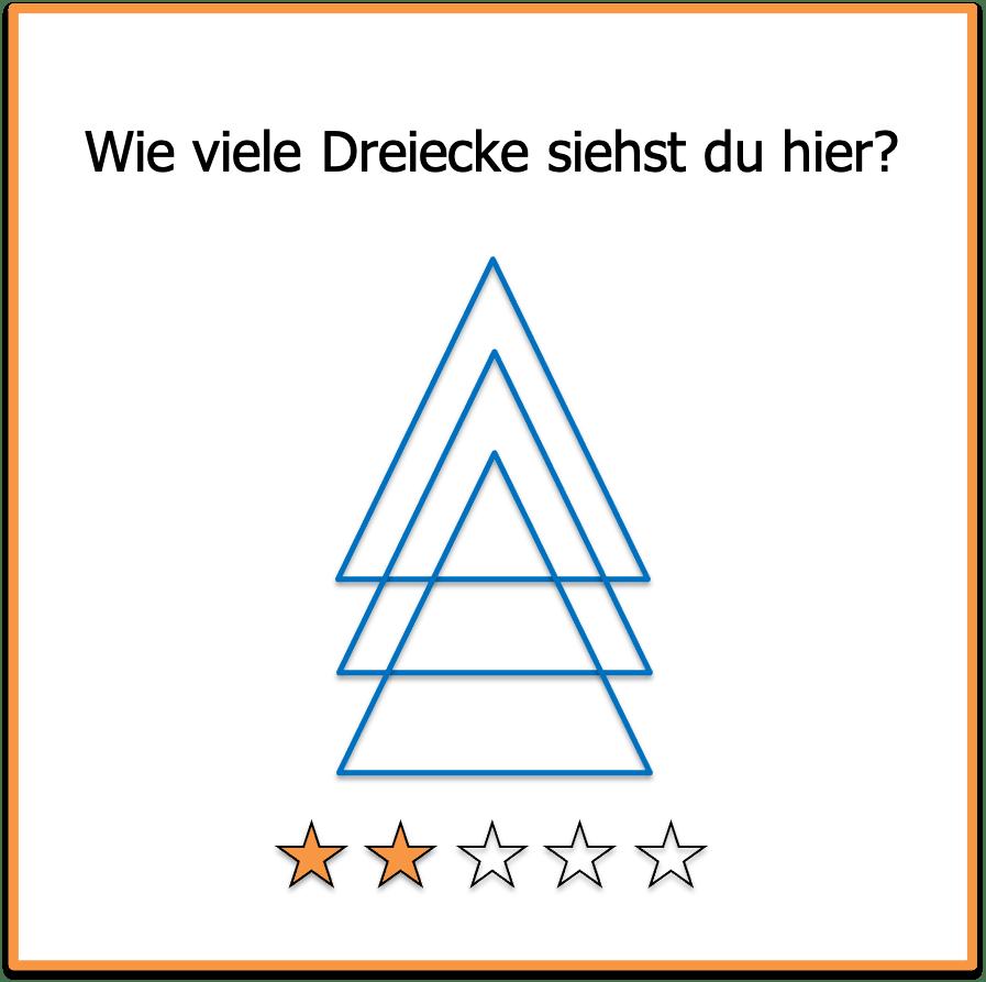 Logikrätsel Dreieck