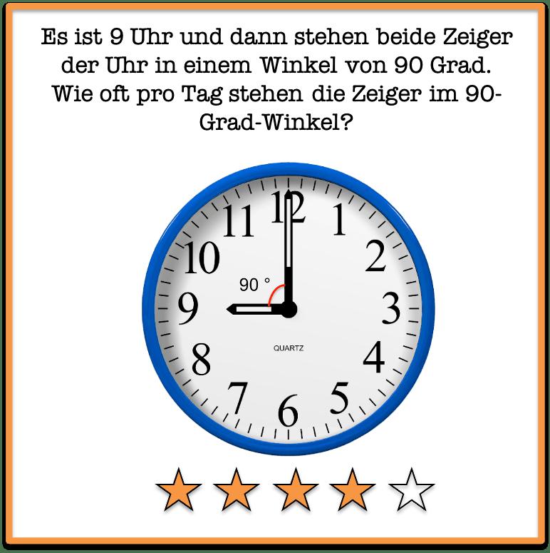 rätsel Uhr